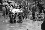 川一电站发泥石流 约40人失踪