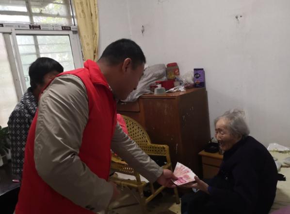 """江苏省淮安市:情满重阳 爱在盱城 盱城街道开展""""我..."""