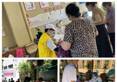 武汉社工机构积极协助社区开展核酸检测